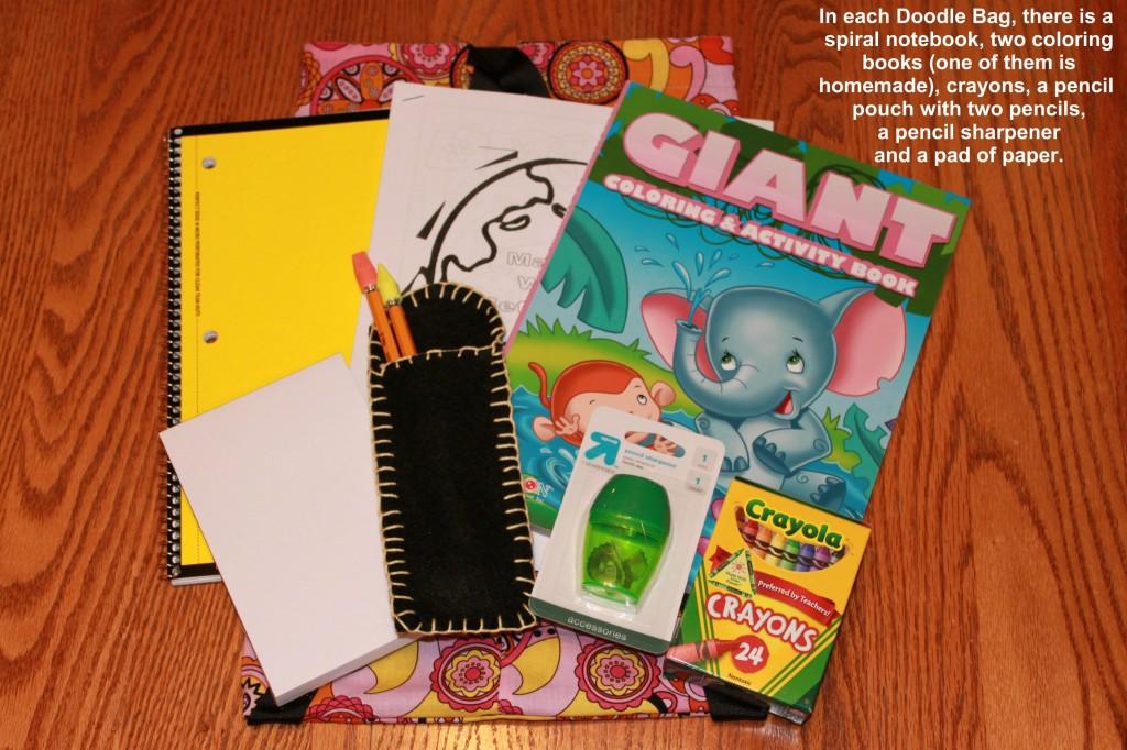 Doodle Bag Contents