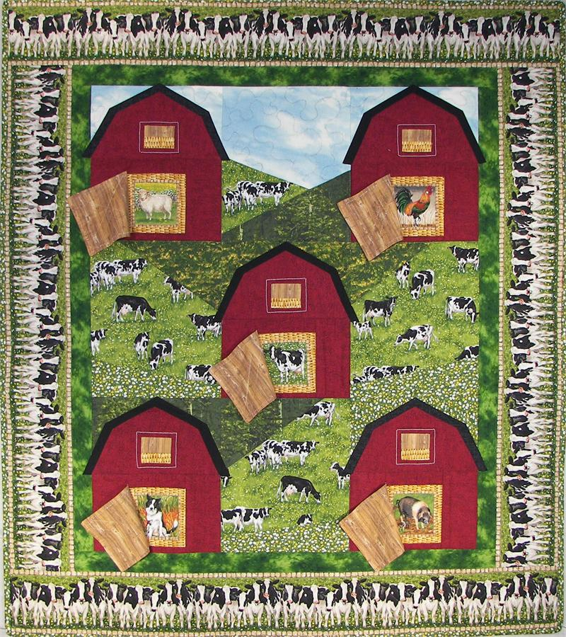 Hillside Barns & Pastures Quilt Pattern ME-108