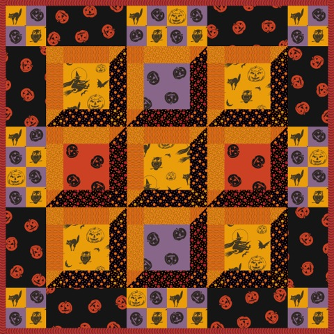 All Hallow's Eve Quilt Pattern YF-115