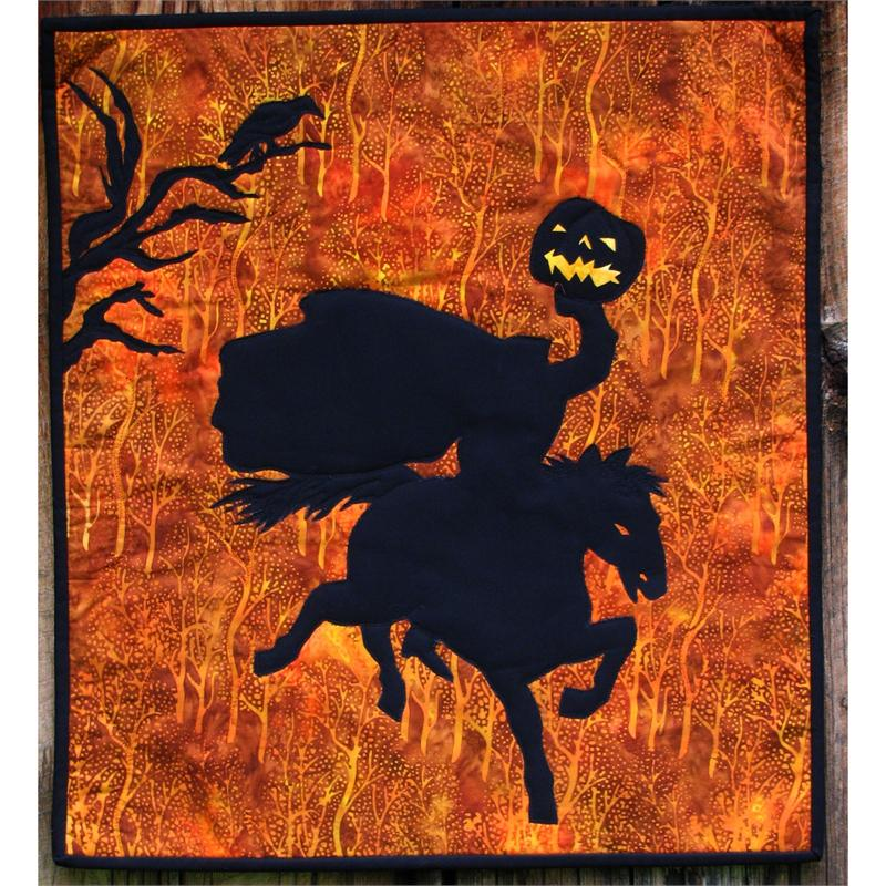 Halloween Horseman Wallhanging Pattern ME-211
