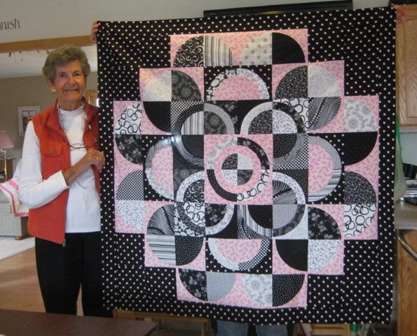 Mary and her Circle Of Hope Quilt Top
