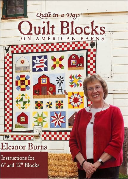 Quilt Blocks on American Barns Book QD-1082
