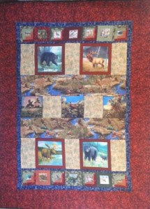 Scenic Outdoors quilt