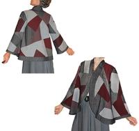 wool swing jacket