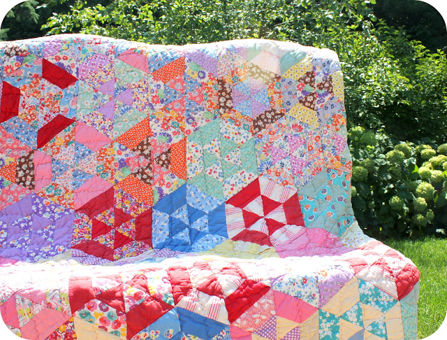How to Quilt with Recycled Materials - QuiltWoman.com ... : quilt materials - Adamdwight.com