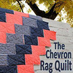 chevron rag quilt