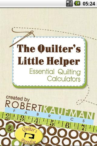 quiters little helper