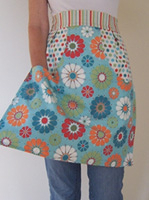 retro clothespin apron