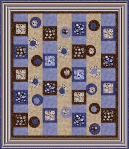 http://www.quiltwoman.com/Circles-And-Squares-Quilt-Pattern.aspx