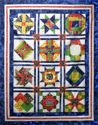 Introduction to Intermediate Quilting Pattern