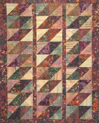 Batik Diamonds Quilt Pattern