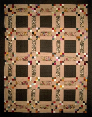 Denny and the Original Hopscotch Quilt