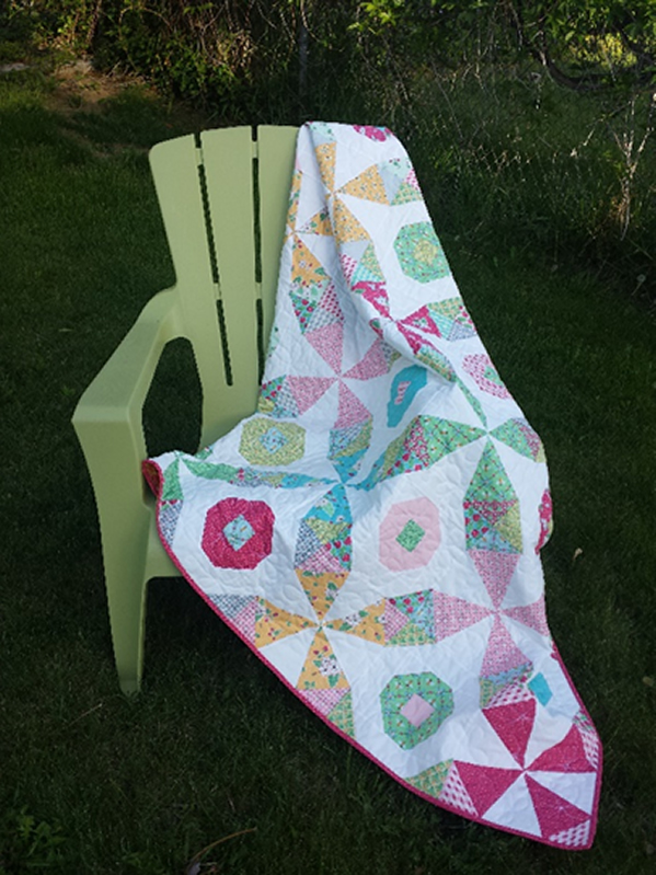 Bee Line Quilt Pattern